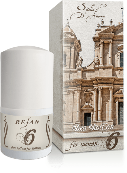 6 Deo Roll-on para senhoras