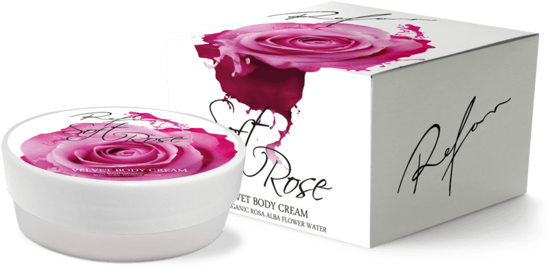 Body cream Soft rose