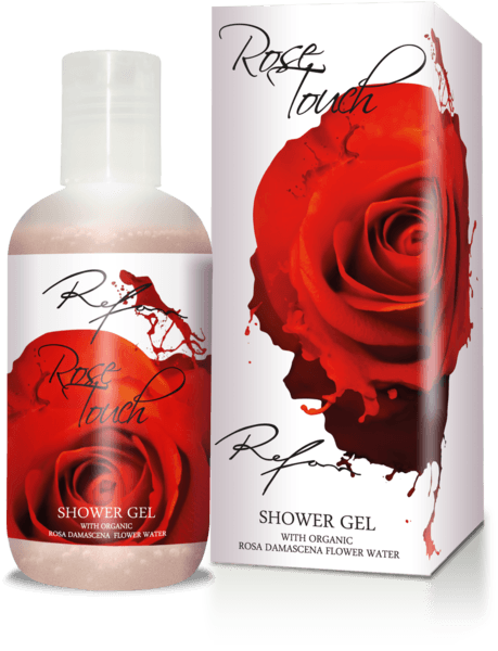 Gel de ducha  Rose Touch