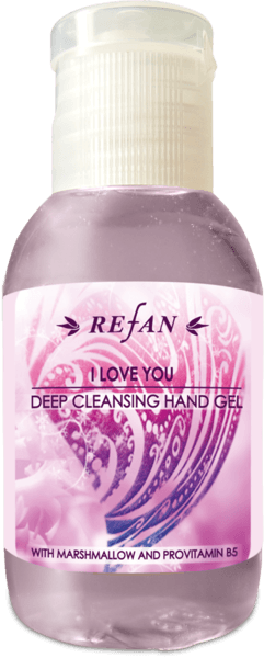 Deep cleaning hand gel