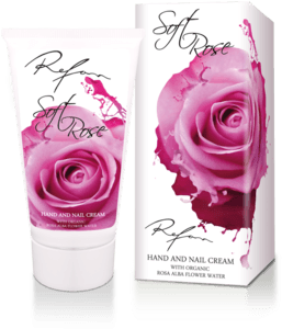 Hand and nail cream Soft rose