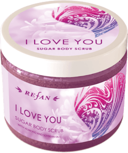 I Love you Sugar body scrub