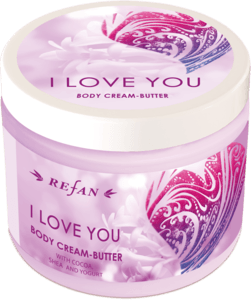I Love you Body cream butter