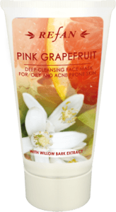 Pink Grapefruit Deep cleansing face mask
