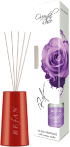 Oriental Rose Home perfume with rattan sticks