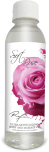 body and massage oil Soft rose