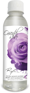 Oriental Rose Ultra-moisturizing body and massage oil
