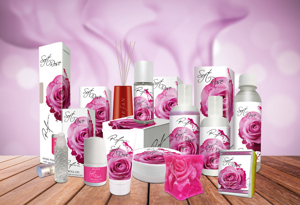 Soft rose with organic rose water - Rosa Alba
