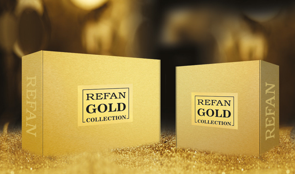 REFAN GOLD COLLECTION SET