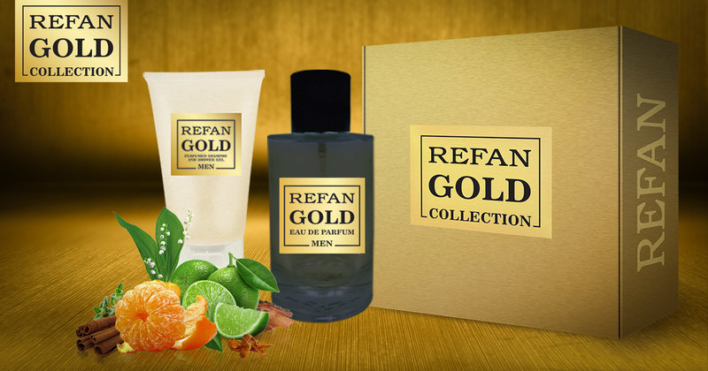 SET REFAN GOLD COLLECTION MEN 214