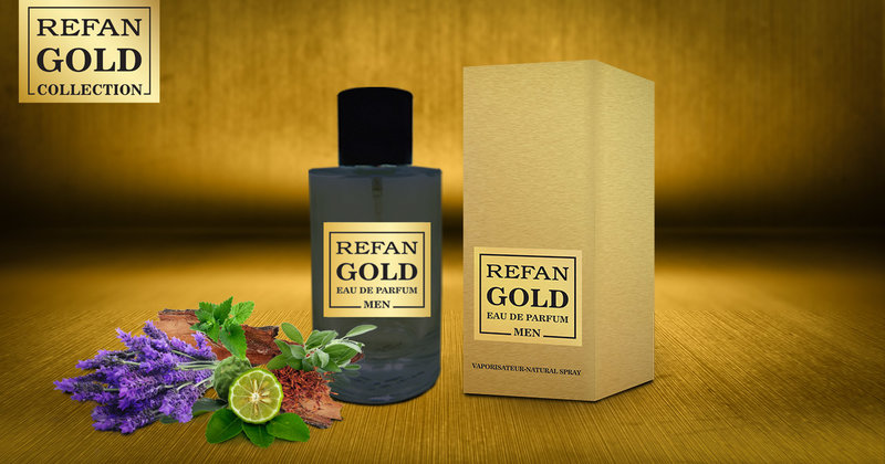EAU DE PERFUM REFAN  GOLD  MEN  203