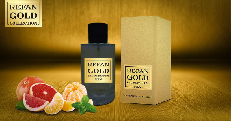 EAU DE PERFUM REFAN  GOLD  MEN  219