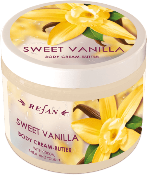 Body cream butter Sweet Vanilla
