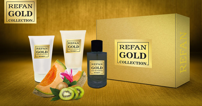 SET REFAN GOLD COLLECTION WOMEN 126