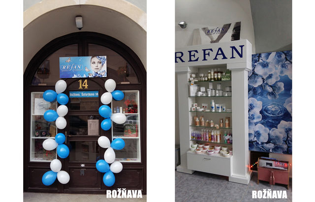 REFAN opened two new franchise stores in Slovakia