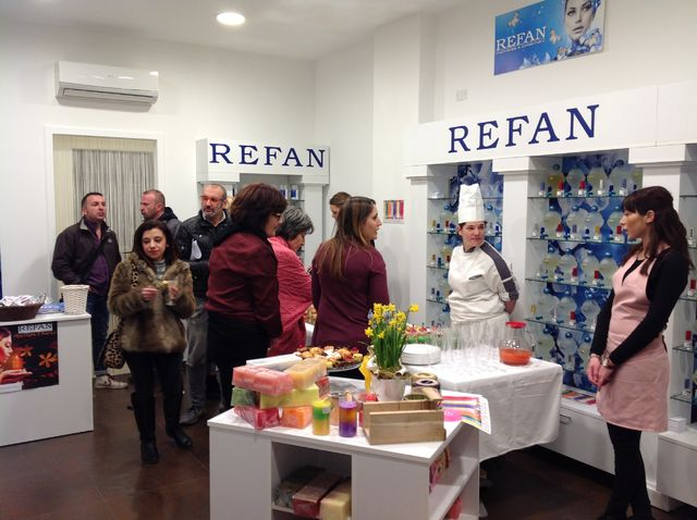 New Refan store in Italy