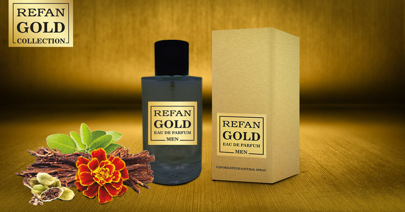 EAU DE PERFUM REFAN GOLD  MEN  211