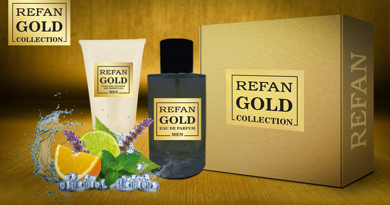 SET REFAN GOLD COLLECTION MEN 407