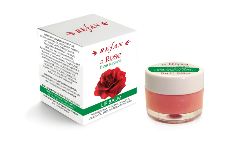 "BALSAM DE BUZE ""A ROSE FROM BULGARIA"""