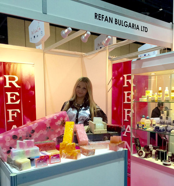 REFAN caught the interest of the visitors of the exhibition MENOPE 2015 in Dubai