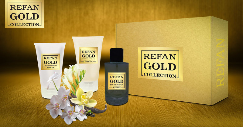 SET REFAN GOLD COLLECTION WOMEN 187