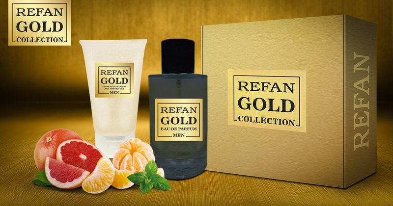 SET REFAN GOLD COLLECTION MEN 219