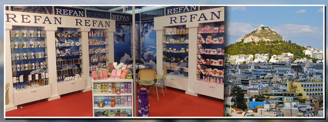"""Refan Bulgaria"" LTD  participated in one of the largest exhibitions for beauty product in Greece"