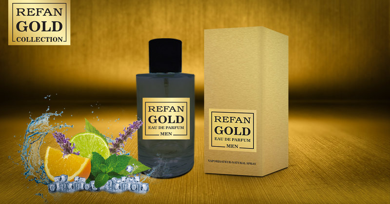 EAU DE PERFUM REFAN GOLD MEN 407