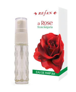 "APA DE PARFUM ""A ROSE FROM BULGARIA"" 10 ML REFAN"