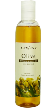 Age-defying bath and shower gel OLIVE REFAN