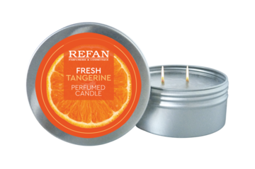 Perfumed candle Fresh Tangerine