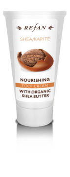 Nourishing fооt cream with organic shea butter REFAN