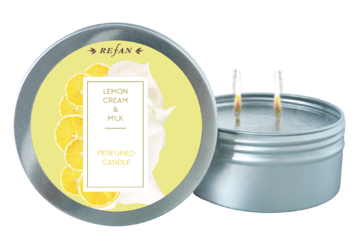Lemon cream&Milk PERFUMED CANDLE