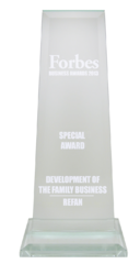 special Family Business Development Prize of FORBES