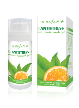 Gel de limpeza facial Antistress
