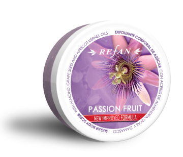 Passion fruit sugar body scrub
