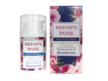 Night Face Cream Refan's Rose