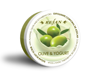 Olive and Yoghurt Sugar body scrub