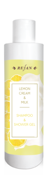 Lemon cream&Milk SHAMPOO AND SHOWER-GEL