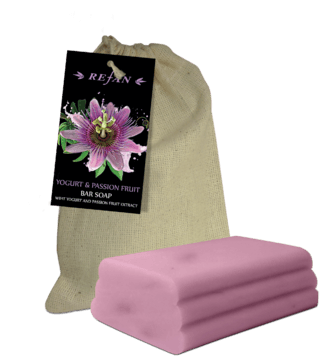 Yogurt & Passion Fruit Bar soap