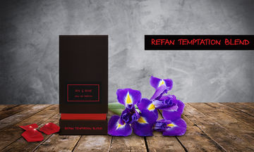 REFAN TEMPTATION BLEND IRIS & ROSE