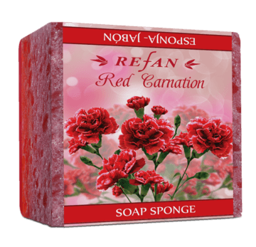 Red Carnation Săpun-burete