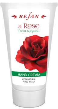 "CREMA DE MAINI ""A ROSE FROM BULGARIA"" REFAN"