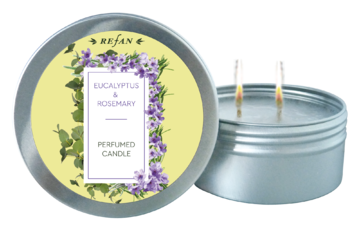 Eucalyptus&Rosemary PERFUMED CANDLE