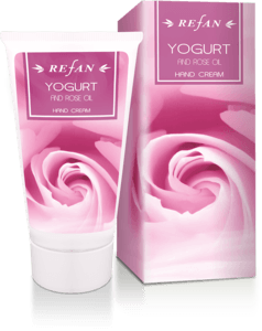 Yogurt and Rose oil Hand cream