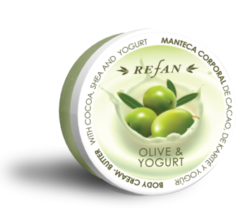 Olive and Yoghurt Body cream-butter