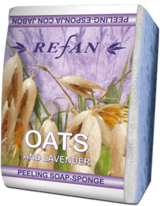 Soaps Peeling soap sponges Peeling soap-sponge Lavender and Oats