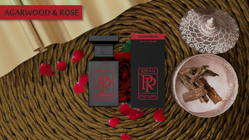AGARWOOD & ROSE eau de parfum by Refan