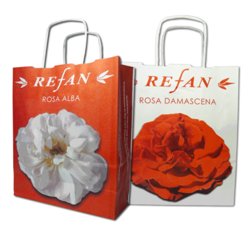 Refan accessories Refan bags Small paper bag Rose