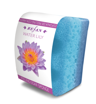 WATER LILY SERIES PEELING SOAP-SPONGE